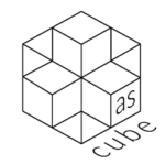 Logo as-cube